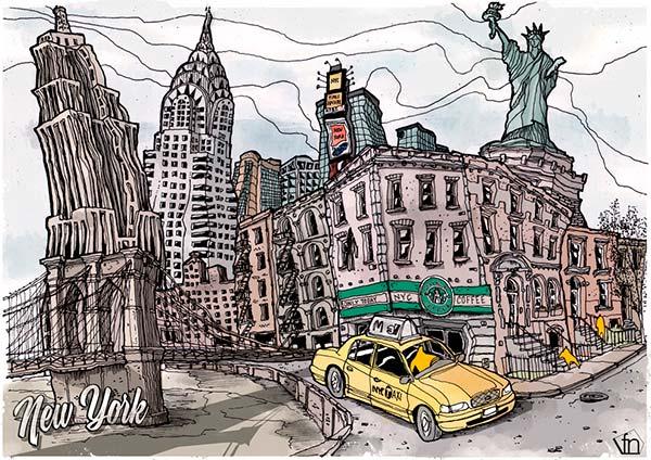 New York de Fernando Neyra aka Fer Neyra