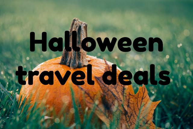 Halloween travel deals