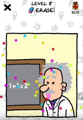 Jawaban Just Draw Erase Level 8