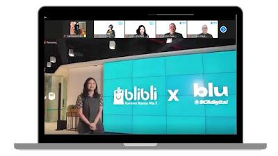 blibli menjadi bagian dari ekosistem digital blu dalam bidang non-banking transaksional