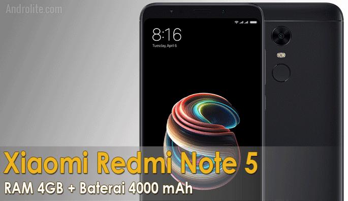 Harga Terbaru Ponsel Xiaomi Redmi Note 5