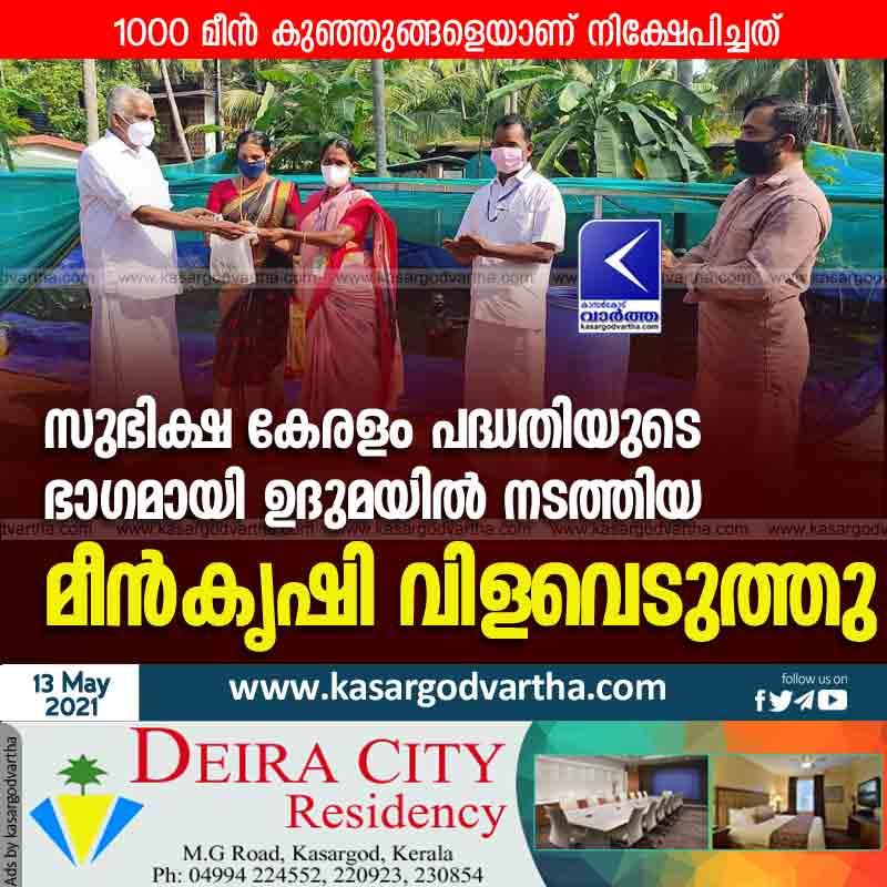 News, Kasaragod, Kerala, Fish farming,