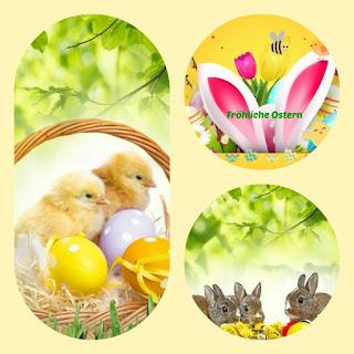 Frohe Ostern Gruß