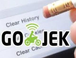 Cara Menghapus History Gojek