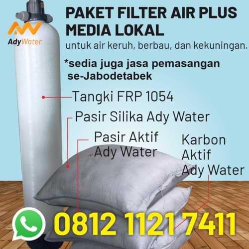 paket jasa instalasi filter air