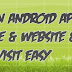How to Create a Android Application For Your Wapsite