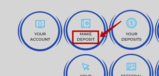 Создание депозита в Indorzmining
