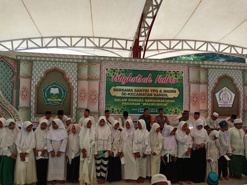 Babinsa Hadiri Istighosah Kubro Bersama TPQ Dan MADIN Se Kecamatan Bangil