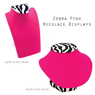 Perfecting the Zebra Pink Necklace Displays from Nile Corp