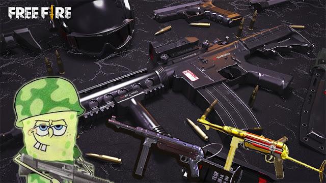 Cara Memperkuat Senjata MP40 Free Fire (FF) Free, Sekali Main Langsung Menang