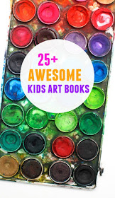 great list of 25+ great kids art books