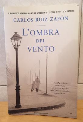 L'OMBRA DEL VENTO di Carlo Ruiz Zafon