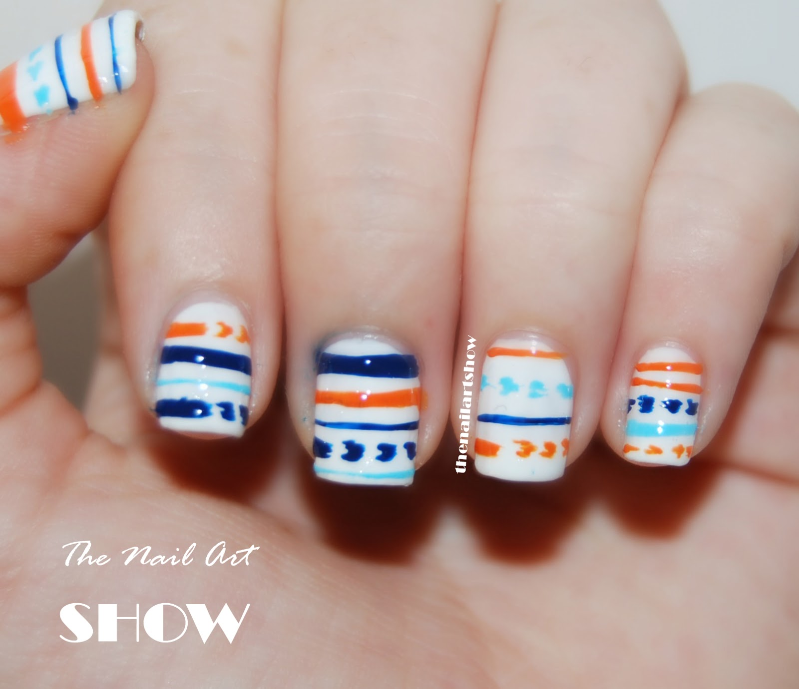 June Nail Art Challenge  Day 16: Match OOTD   The Nail ...