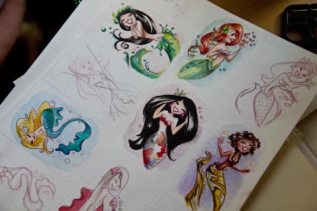 Art Of Liana Hee Wondercon Commissions And Mini