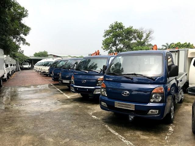 Mua bán xe tải 1 tấn Porter 2 cũ ở Hà Nội
