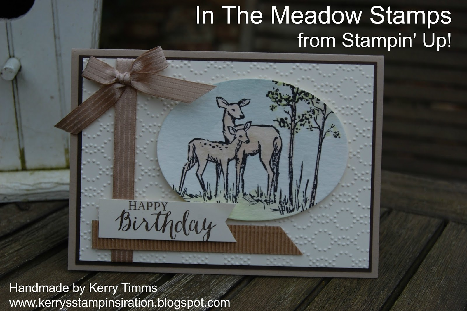 Stampin spiration: More from In The Meadow