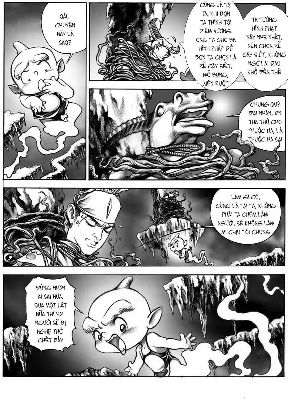 Chung Quỳ Truyền Kỳ Chap 12 - Next Chap 13