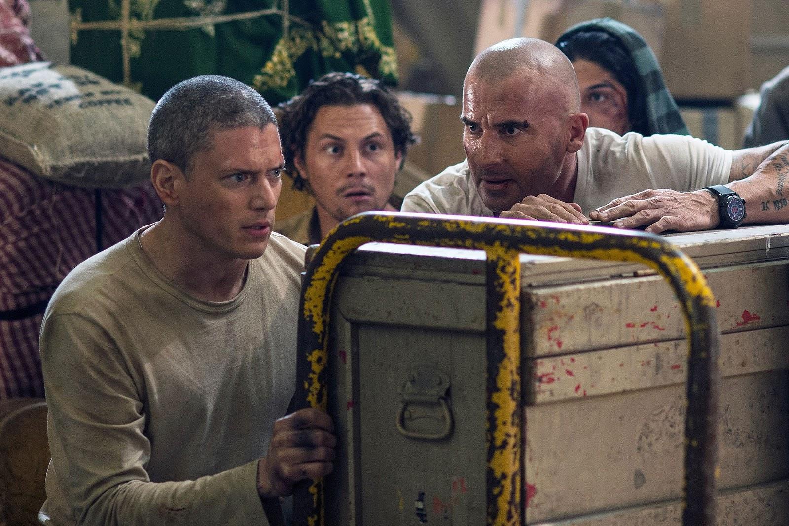 Michael Scofield y compañía tratando de escapar de la cárcel