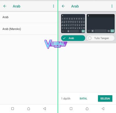 Cara Mengubah Keyboard Menjadi Bahasa Arab Di Android Menggunakan Gboard 3