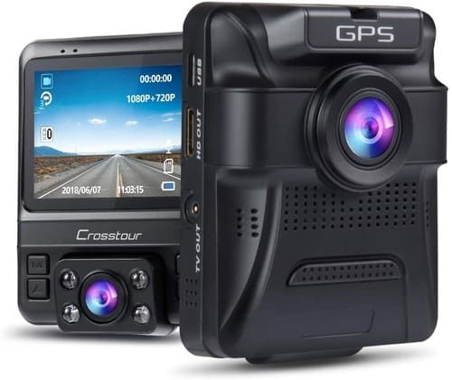 Review Crosstour CR750 FHD Dual Dash Cam Car Camera