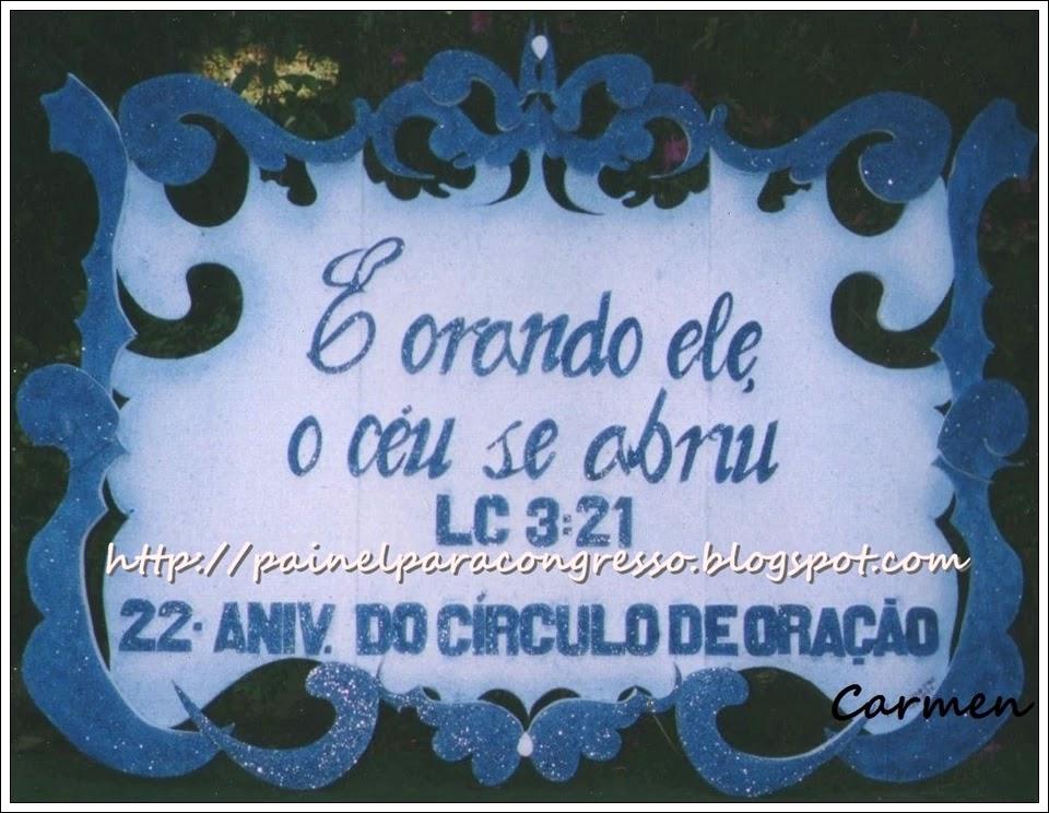 Tema para círculo de oração  /  Lucas 3:21