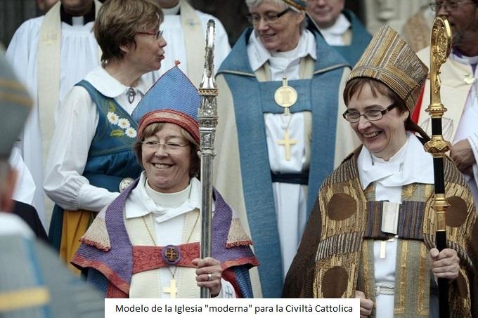"""Modelo """"moderno"""" de Iglesia"""