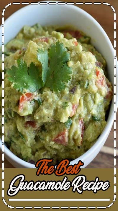 Whether you use it as a #dip or a #topping, this #Guacamole #Recipe will not disappoint