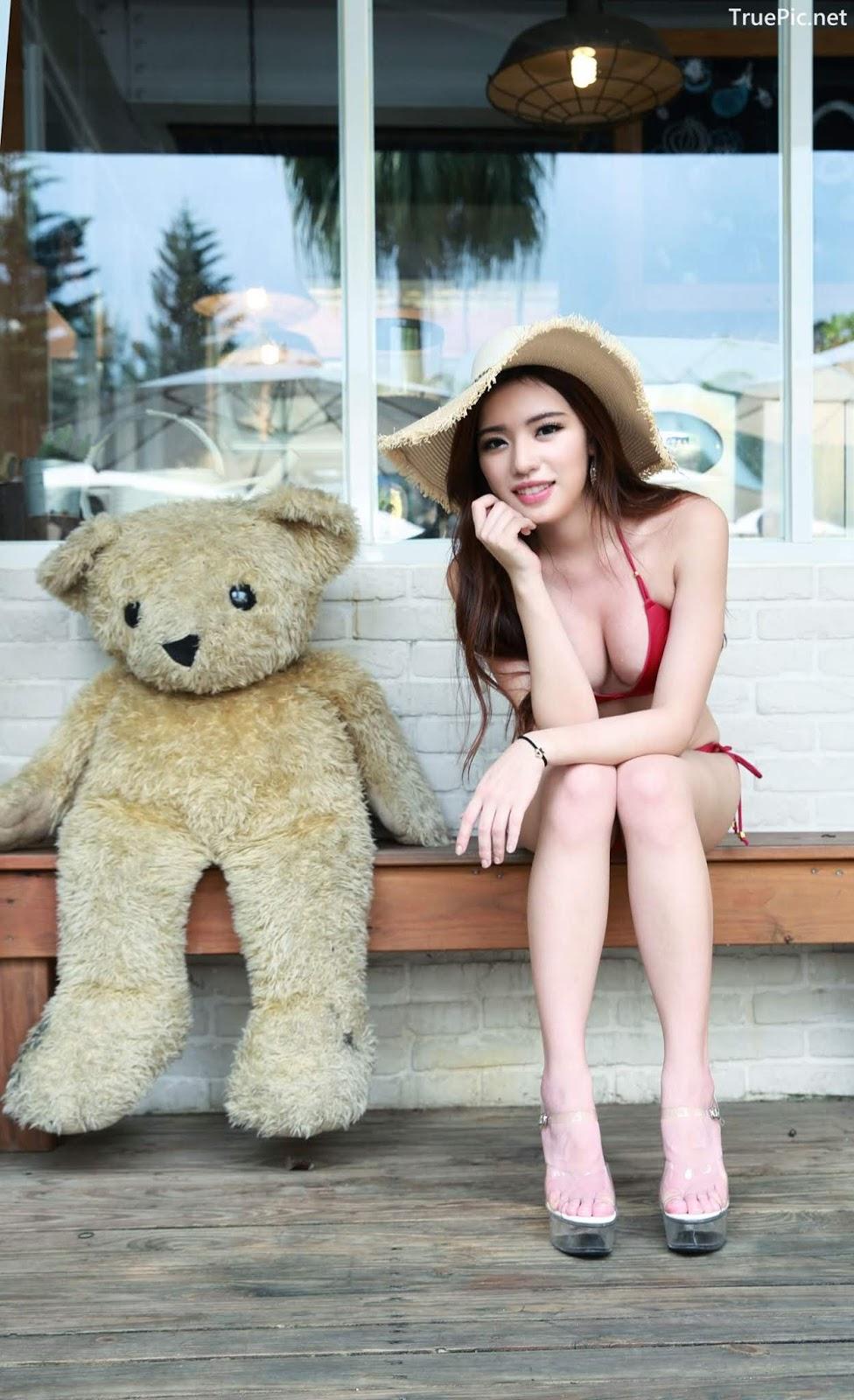 Image-Taiwanese-Model-Kiki-謝立琪-Lovely-And-Beautiful-Bikini-Girl-TruePic.net- Picture-8