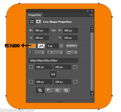 membuat logo blogger photoshop