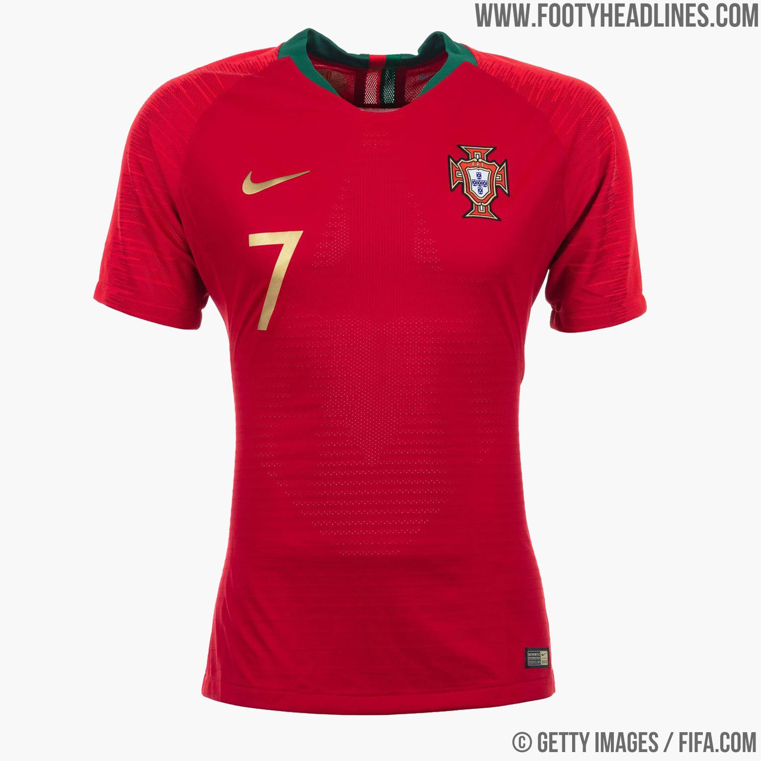 2749763aa1c Portugal 2018 World Cup Home Kit Buy now. Free worldwide delivery on all  orders