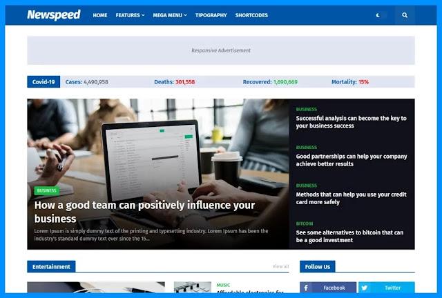 Adsense Ready Blogger Templates