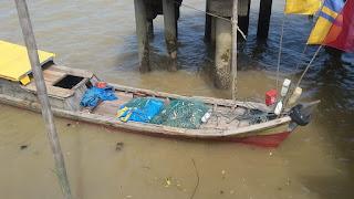 Stop Ekspor Udang Nenek, Nelayan di Kuala Jambi Merana