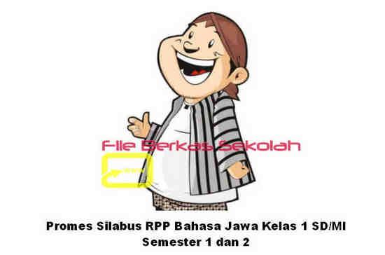 Promes Silabus RPP Bahasa Jawa Kelas 1 SD/MI Semester 1 dan 2
