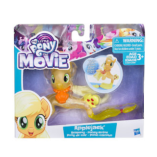 My Little Pony Movie Brushable - Applejack Seapony