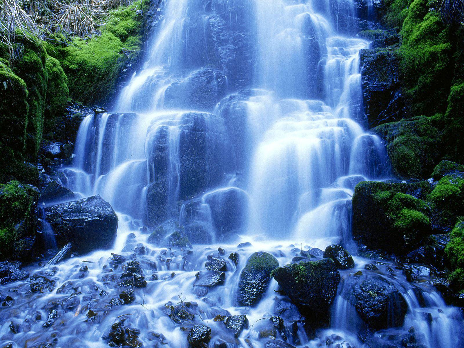 Watervallen achtergronden hd wallpapers for Screensaver hd gratis