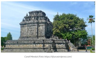 Candi Mendut Tempat Magelang Jawa Tengah
