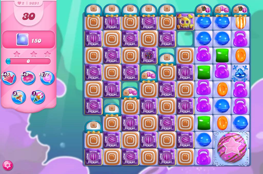 Candy Crush Saga level 9891