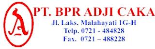 BPR ADJI CAKA Lowongan Kerja Tamatan D3 Lampung Terbaru