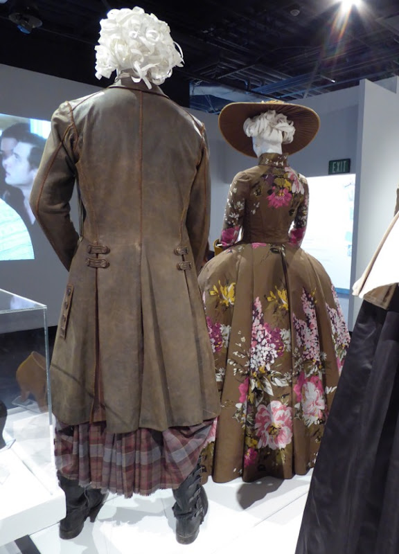 Outlander Jamie Fraser Highlands costume back