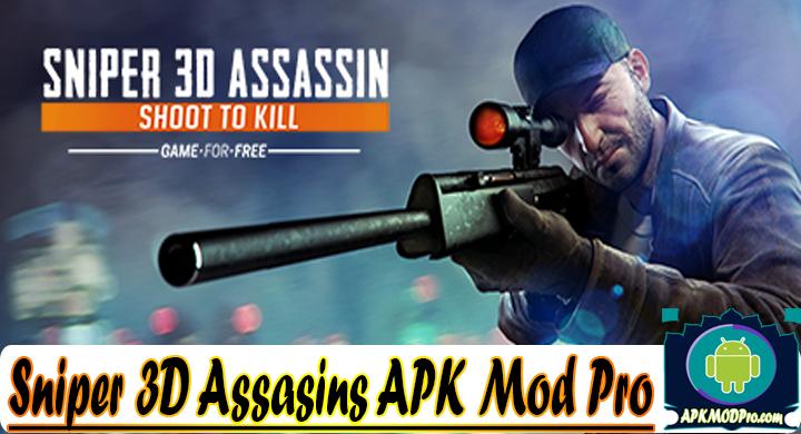 Sniper 3D Assasins 3.1.12 (MOD Unlimited Coins) Apk Mod Pro
