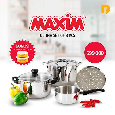 Maxim Ultima Set of 8 pcs