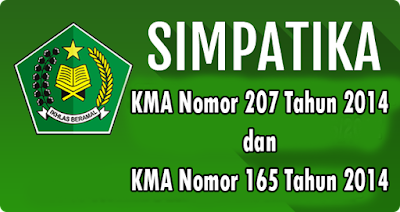 KMA Nomor 207 Tahun 2014 dan KMA Nomor 165 Tahun 2014 Untuk Acuan Jadwal SIMPATIKA