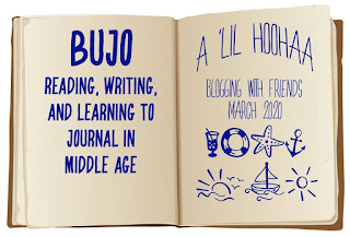 Blog With Friends, a multi-blogger project based post incorporating a theme, Read Across America | BUJO: Reading, Writing and Learning to Journal in Middle Age by P.J. of A 'lil HooHaa | Featured on www.BakingInATornado.com