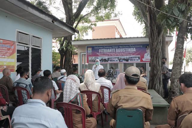 Wawako Palembang Serap Aspirasi Masyarakat di Kelurahan Demang Lebar Daun Kecamatan Ilir Barat Satu