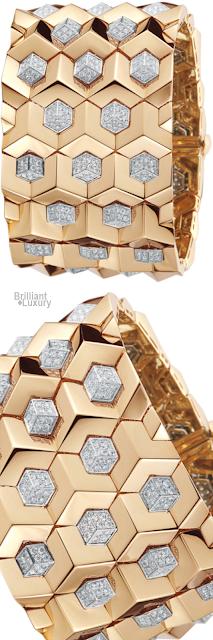 Brilliant Luxury♦Paolo Costagli 18ct Rose Gold Diamond Brilliantissimo® Bracelet