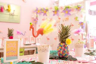 dicas festa flamingo