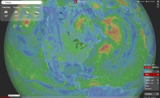 Windy.com - Weather radar and forecast