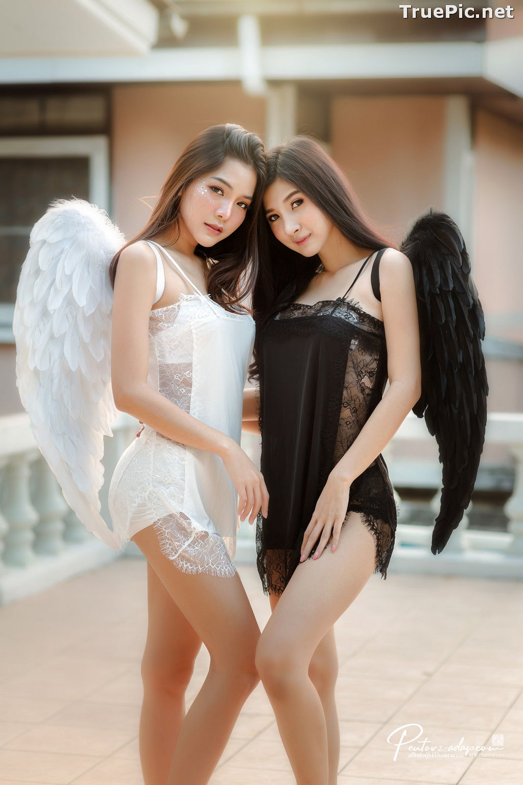 Image Thailand Model - Phitchamol Srijantanet and Pattamaporn Keawkum - Angel and Demon - TruePic.net - Picture-7
