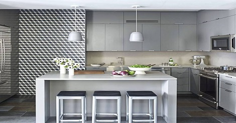 Lemari Dapur Pada Rumah Minimalis