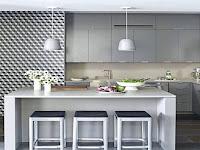 Konsep Lemari Dapur Pada Rumah Minimalis Yang Unik